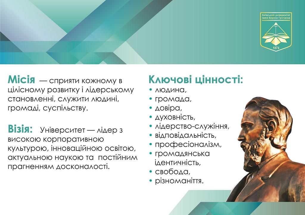 4fa3c54b4003e6 Misiia Borys Grinchenko Kyiv University